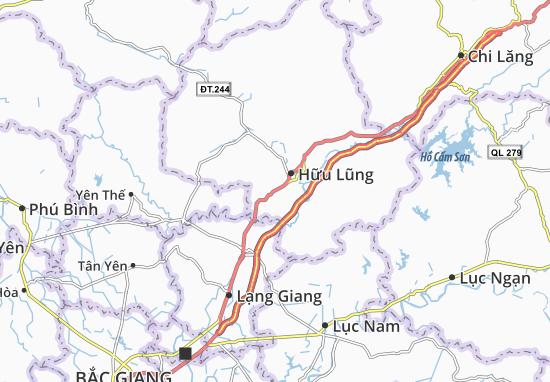 Carte-Plan Minh Sơn