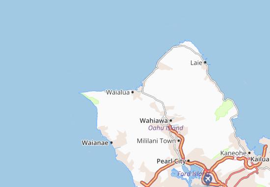 Waialua Map