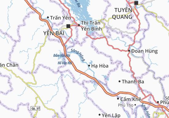 Carte-Plan Y Sơn