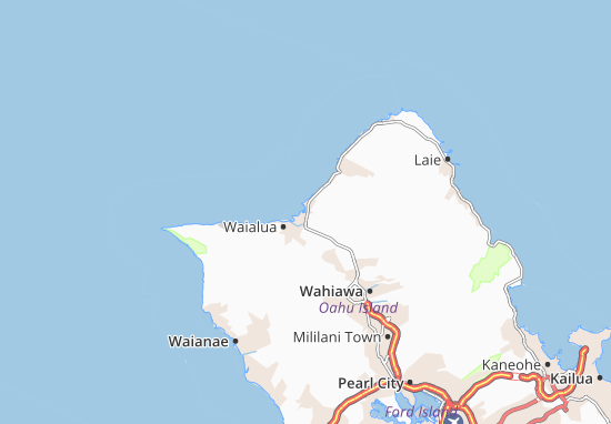 Haleiwa Map