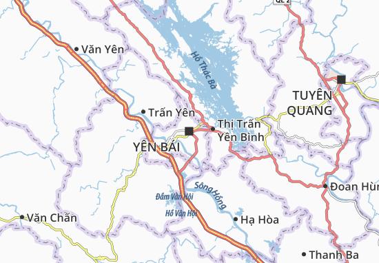 Carte-Plan Yên Bái