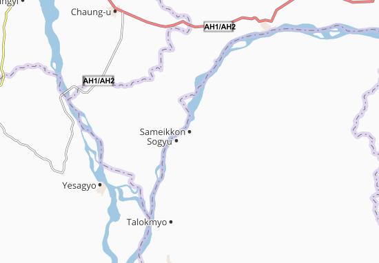 Sameikkon Map
