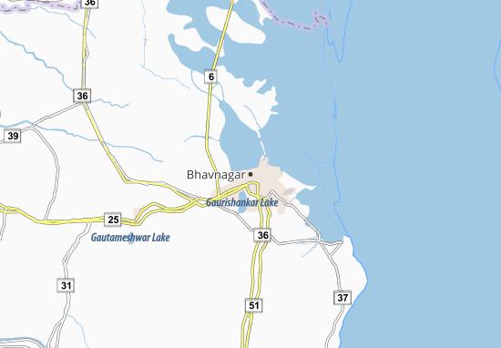 Bhavnagar Map
