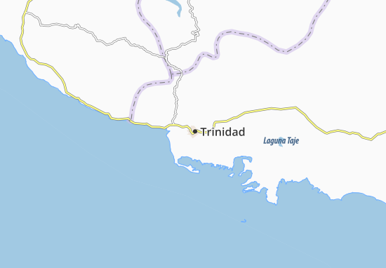 Carte-Plan Trinidad