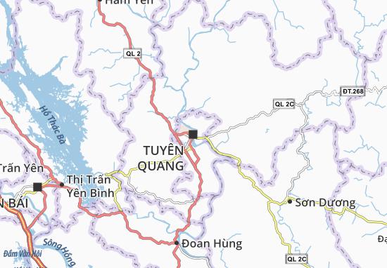 Tuyên Quang Map