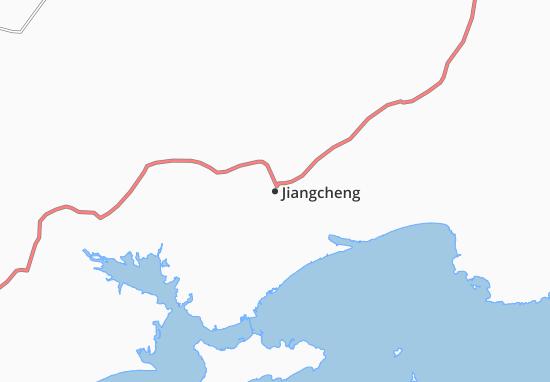 Carte-Plan Jiangcheng