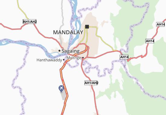 Mapa Plano Myitnge