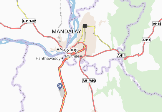 Myitnge Map