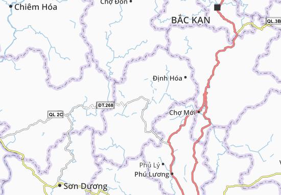 Carte-Plan Phúc Chu