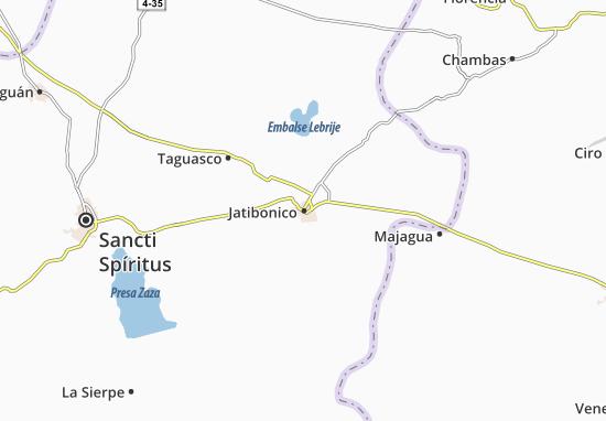 Mapa Plano Jatibonico