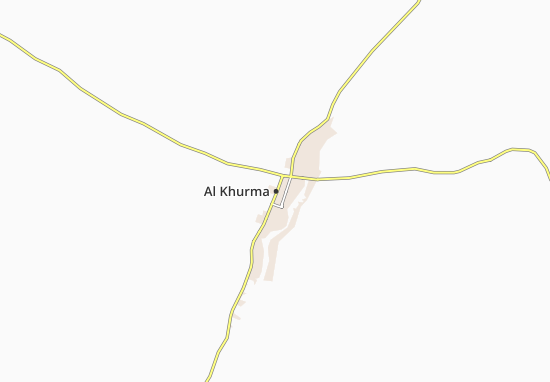 Carte-Plan Al Khurma