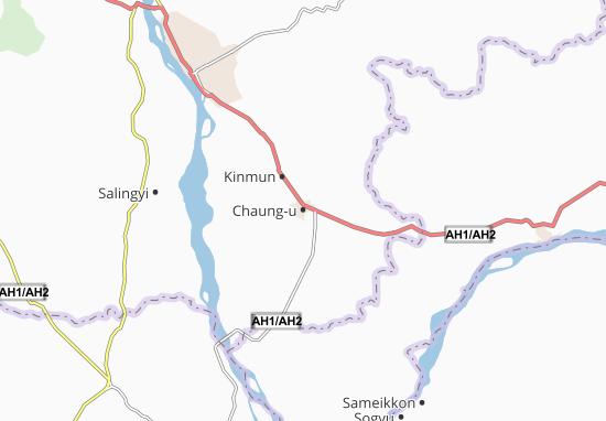 Chaung-u Map