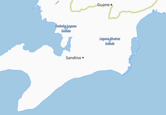 Sandino Map