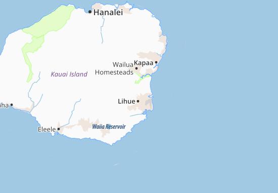 All ViaMichelin for Hanamaulu. Map of Kapaia   Michelin Kapaia map   ViaMichelin