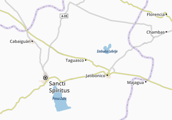Carte-Plan Taguasco