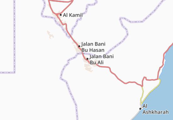 Mapa Plano Jalan Bani Bu Ali