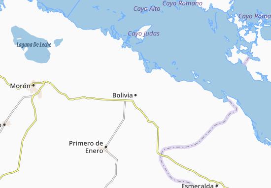 Map Of Bolivia Michelin Bolivia Map ViaMichelin - Map of bolivia