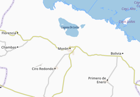 Morón Map