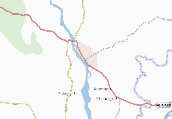Mapas-Planos Monywa