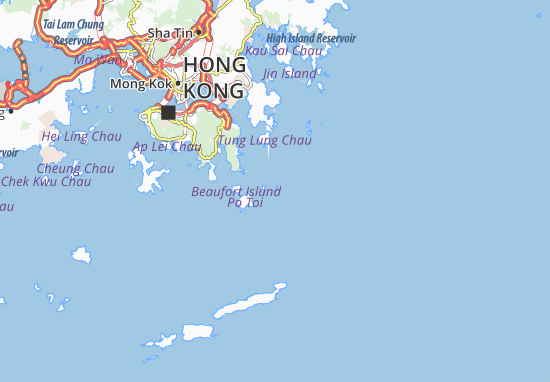 Kaart Plattegrond Pak Lau Tsai