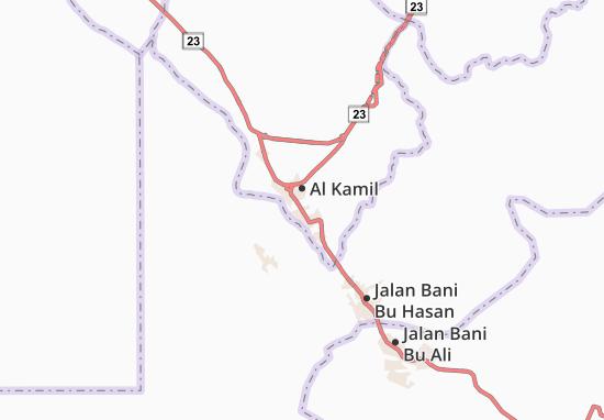 Carte-Plan Al Wafi