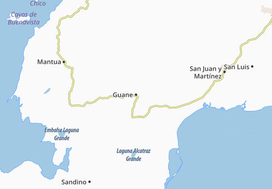 Mapa Plano Guane