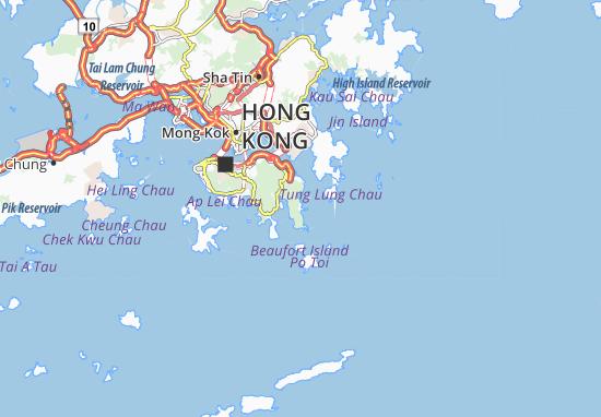 Shek O Map