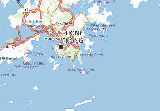 Tai Long Wan Map