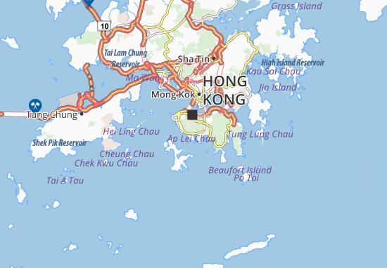 Mapa Plano Southern District