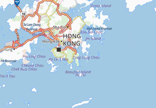 Siu Sai Wan Map