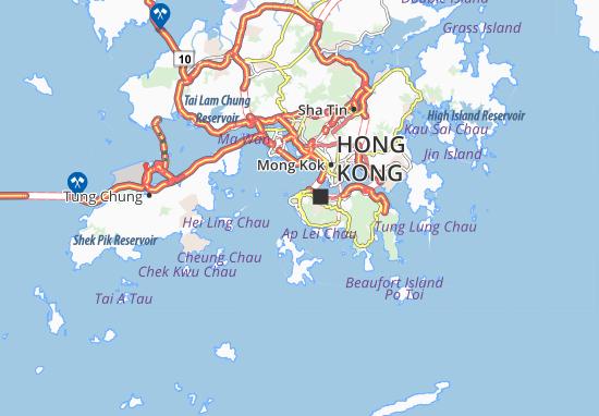 Mappe-Piantine Pok Fu Lam