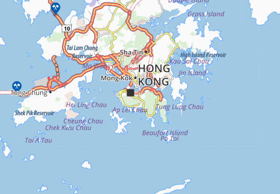 Hong Kong Island Map Hong Kong Island Map: Detailed maps for the city of Hong Kong
