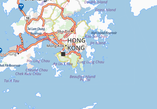 Mapas-Planos Shau Kei Wan