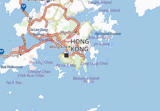 Kaart Plattegrond Sai Wan Ho