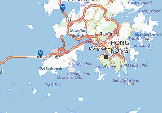 Mappe-Piantine Nam Wan