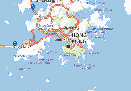 Mapas-Planos Sai Ying Pun