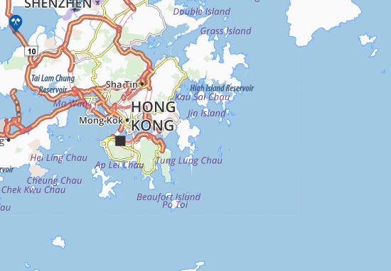 Tai Hang Tun Map