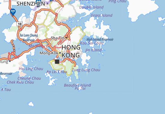 Siu Chik Sha Map