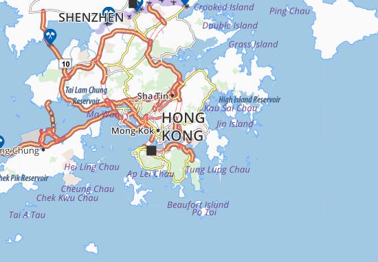 Sau Mau Ping Map