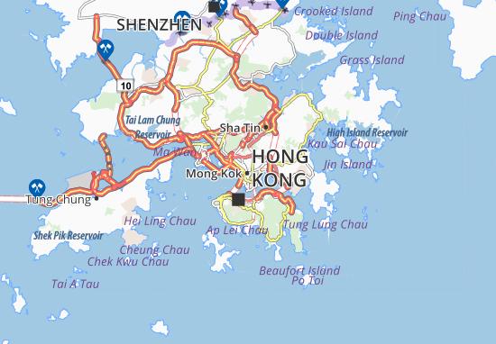 Carte-Plan Mong Kok