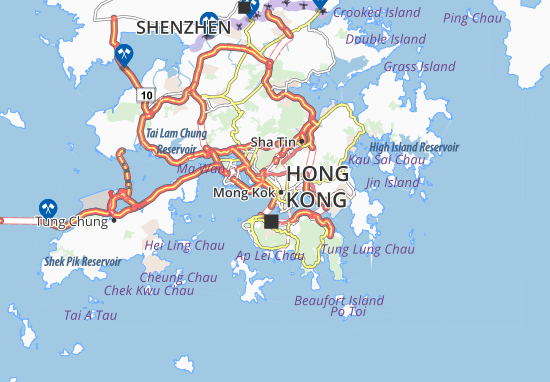Tai Kok Tsui Map