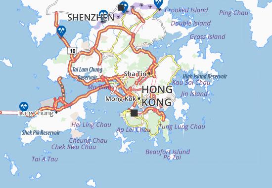 Mapas-Planos Sham Shui Po