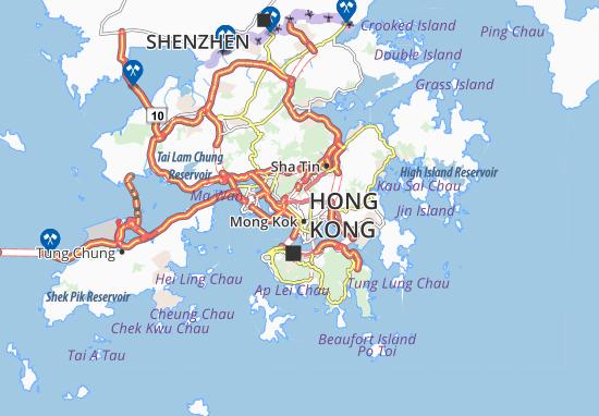Shek Kip Mei Map
