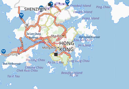Mapas-Planos Ngau Chi Wan