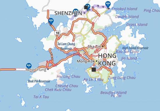 Mappe-Piantine Sai Tso Wan