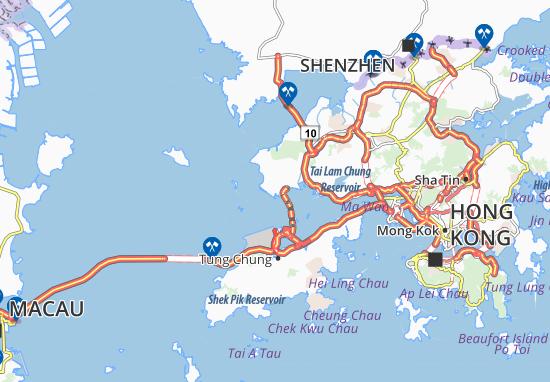 Mappe-Piantine Siu Lang Shui