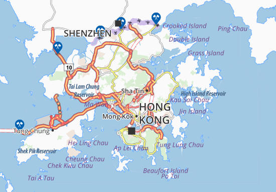 Mapas-Planos Sha Tin Heights