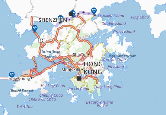 Sha Tin Heights Map