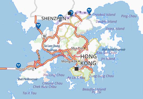 Mapas-Planos Sheung Kwai Chung