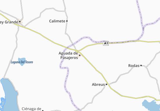 Aguada de Pasajeros Map